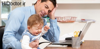 عواقب استرس داشتن مادر و پدر بر نوزاد