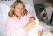 اتاق مشترک مادر و نوزاد پس از تولد