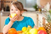 برنامه ریزی برای میوه خوردن اطفال
