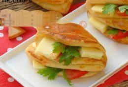 ساندویچ جیب دار ( آموزش تصویری)