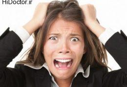 تاثیر استرس روی پوست و مو
