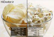 نکاتی درباره ی غذاهای چرب و غذاهای سالم و مقوی