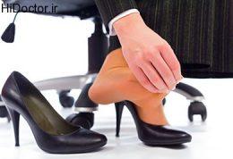 از کفش های نامناسب و غیراستاندارد دوری کنید!