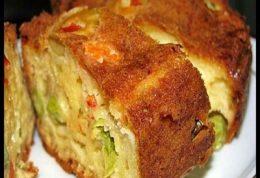 در ترکیه چگونه کیک پنیر و سبزیجات درست می کنند