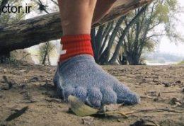 پای برهنه با خیال راحت راه بروید