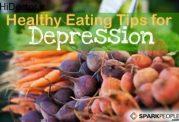 رفع افسردگی با مصرف خوراکی سالم