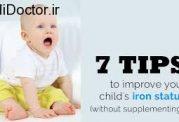 مهمترین پرسش های مادرانه در زمینه قطره آهن