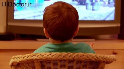 مشاهده بی اندازه تلویزیون توسط اطفال