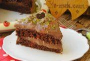 آموزش تصویری کیک شکلاتی خیس