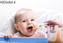 تغذیه دوره ای شیرخواران