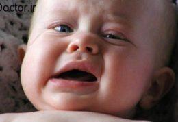 علت مهم گریه اطفال