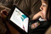 عوارض نور آبی وسایل هوشمند برای اطفال