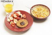 چه نکاتی را باید در خوردن صبحانه رعایت کرد؟