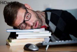 چگونه دور چرت و خواب آلودگی را خط بکشید