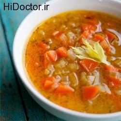 دستور تهیه سوپ کم کالری لذیذ پاییزی
