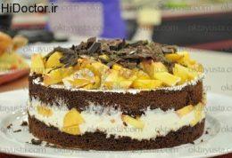 آموزش کیک 5 رنگ