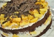 کیک کرامبل نیویورکی
