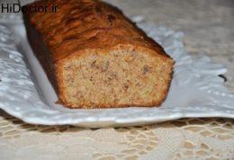 کیک آرد سبوس دار بدون روغن