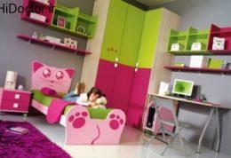 انتخاب رنگ اتاق متناسب با روحیه خردسالان
