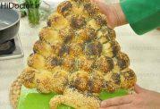 نان به شکل درخت