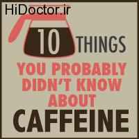نکاتی جالب در مورد کافئین