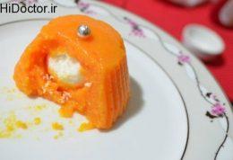 دسر هویج مغز دار