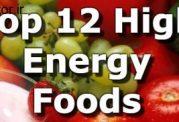 لیستی از بهترین مواد خوراکی انرژی زا