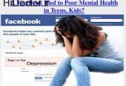 ابتلا به مشکلات احساسی و عاطفی با شبکه های اجتماعی
