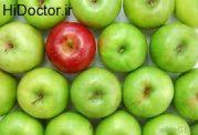 سیب کال و نرسیده نخورید