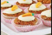 کاپ کیک هویج و دارچین