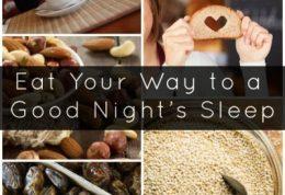مواد غذایی طبیعی برای خواب راحت!