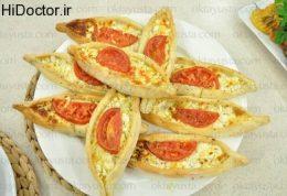 مینی پیده های پنیری طبق فرمول آشپز ماهر ترکیه