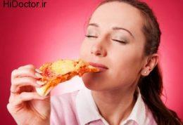 علت علاقه شدید افراد به پیتزا