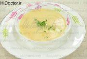 سوپ سیب زمینی و زنجبیل تازه به روش ترکیه