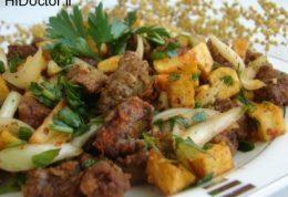خوراک جگر آلبانیایی