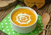 سوپ کدو حلوایی به سبک ترکیه