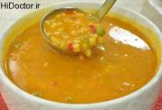 رسپی متفاوت سوپ سبزیجات و ماکارونی
