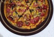 پیتزای پر ملات