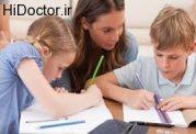انجام تکالیف مدرسه توسط فرزند