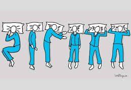پی بردن به تیپ شخصیتی با نحوه خواب