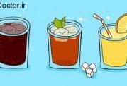 پرهیز از نوشیدنی های شیرین به خاطر قلب و عروق