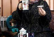 مصاحبه با رابعه اسکویی و راز کاهش وزن وی