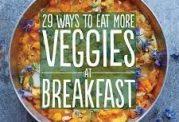تهیه صبحانه با سبزیجات
