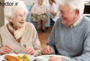 قدم به قدم با تغذیه یک سالمند