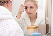 ارتباط مشکلات پوستی و چرخه قاعدگی