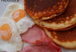 بدنی سالم با صبحانه ای کامل
