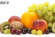 مصرف میوه های رنگ آمیزی شده