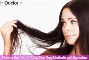 چاره موهای پریشان