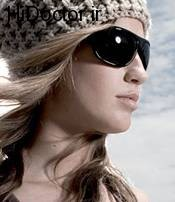 عینک دودی و مقابله با نور خورشید در زمستان
