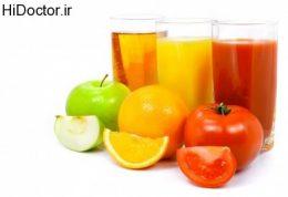 مقایسه خاصیت میوه و آبمیوه